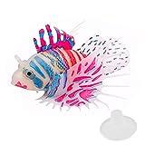 LMKIJN Bella Acquario artificiale Incandescente Ornamenti pesci Lionfish per decorazioni acquario (rosa e blu) per l'arredamento della casa