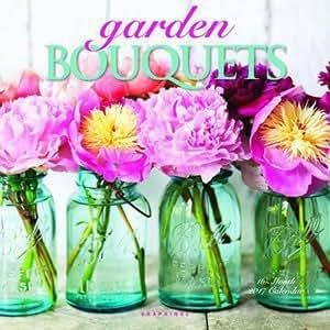 calendrier 2017 bouquet de fleurs du jardin renoncule pivoine hortensias tulipes. Black Bedroom Furniture Sets. Home Design Ideas