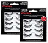 ARDELL Professional Multipack Demi Wispies Black by Ardell, Echthaarwimpern (2 x 4 Paar), Eye-lashes...