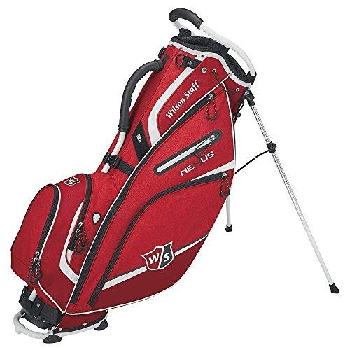 Wilson Golf WGB5700RD Sac de Golf Homme, Rouge, Grand