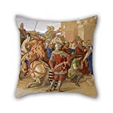 beautifulseason 40,6 x 40,6 cm/40 von 40 cm Ölgemälde William Dyce – Piety- die Ritter der...
