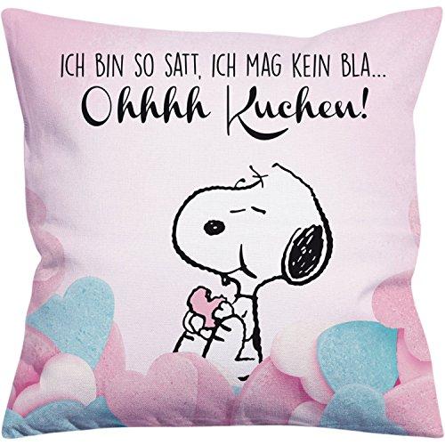 Peanuts Snoopy Collection - Kissen Ohhhh Kuchen!, 40 x 40 cm