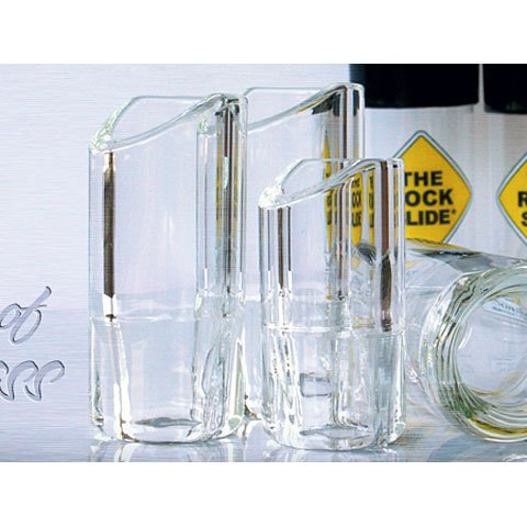 The Rock Slide Moulded Glass LG · Bottleneck