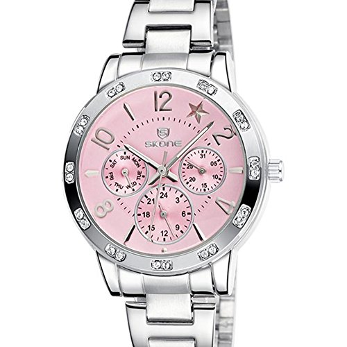 Astarsport orologio da donna cronografo al quarzo acciaio inox band 266302