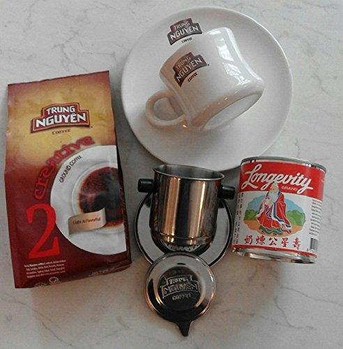 Vietnam Kaffee Starterpaket Trung Nguyen Creative 2 für 2 Personen