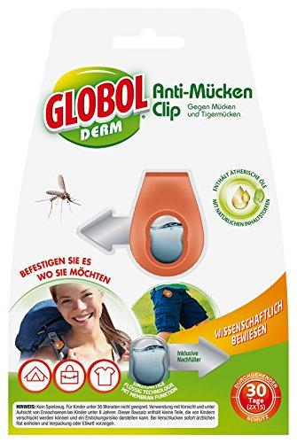 Globol 81855189 Clip Anti Moustiques, multicolore