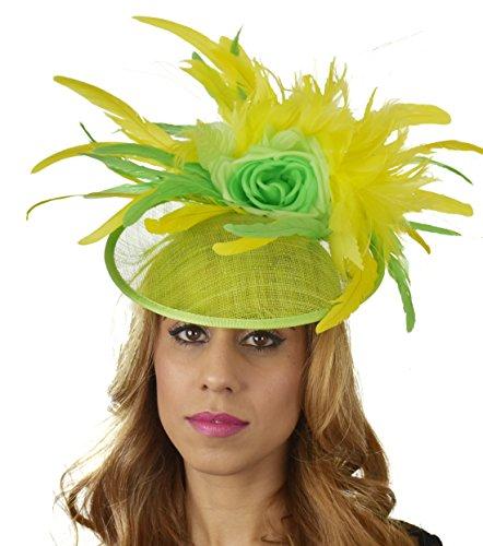 Superbe finey Ascot Derby Bibi Chapeau–avec bandeau–Disponible en 30couleurs Violet - Prune