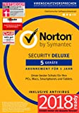 Norton Security Deluxe 2018 | 5 Geräte | 1 Jahr | Windows/Mac/Android/iOS | Download