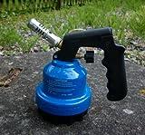 Campingman Bunsenbrenner / Gas Lötbrenner mit kurzem Hals, blau, grün, gelb oder rot