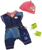 BABY geboren Deluxe Jeans Outfit 2 ass. Kleidungsset f?r Puppen - Puppenzubeh?r (Kleidungsset f?r Puppen, 3 Jahr (e), Multicolor, BABY born, M?dchen, 43 cm)(sortiert)