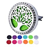 Best Car Fresheners - HOUSWEETY Tree of Life Car Air Freshener Aromatherapy Review