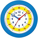 Atlanta Reloj de pared para niños Analog Azul–4481–5