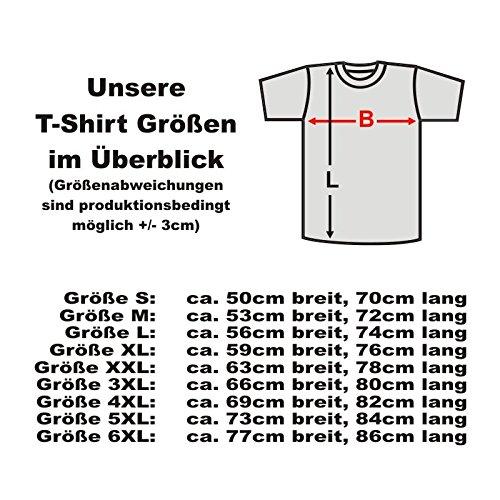 T-Shirt Santa Muerte, Totenkopf Skelett - heiliger Tod, Doña Sebastiana, american style Baumwoll Funshirt auch in großen Größen S-6XL (ADS00983) Schwarz