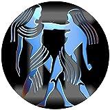 9 Stück Muffinaufleger Muffinfoto Aufleger Foto Bild Sternzeichen Zwillinge rund ca. 6 cm *NEU*OVP*