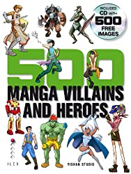 500 Manga Villains & Heroes