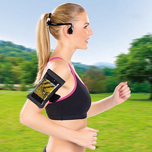 auvisio Wasserdichtes Headset BC-40.sh mit Bluetooth 4.0, Bone Conduction - 4