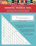 fast2cut (R) Bonnie K. Hunters Essential Triangle Tool (Fast2cut Templates)