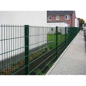 Zaun 25m Komplett-Angebot 1230mm Höhe RAL6005/grün ...