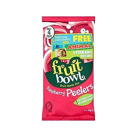 Fruit Bowl Raspberry Peelers 4 x 16 per pack -