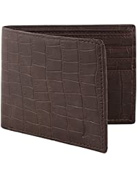 Creature Bi-Fold Brown Pu-Leather Designer Wallet For Men/Boys With Multiple Card Slots(Colour-Brown||WL-043)
