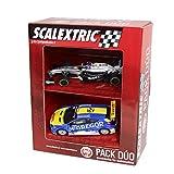 Scalextric Original - Pack Dúo surtido 2 (F1 McLaren 'Button' Deco 2014 - Renault Megane Trophy 'Verschuur') (Fábrica de Juguetes A10168S300)