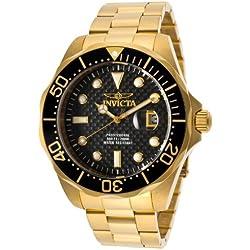 Invicta 14356 - Reloj de Pulsera Hombre, Acero Inoxidable, Color Dorado