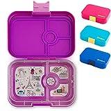 Yumbox Panino - auslaufsichere Lunchbox mit 4 Fächern - Bentobox Brotbox Brotdose Jausenbox Vesperbox für Schule und Kita Kinder