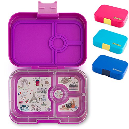 yumbox panino m lunchbox mittelgro mit 4 f chern. Black Bedroom Furniture Sets. Home Design Ideas