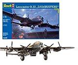 Revell Modellbausatz Flugzeug 1:72 - Lancaster B.III DAMBUSTERS im Maßstab 1:72, Level 5, originalgetreue Nachbildung mit vielen Details, 04295