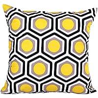 Fundas De Cojines,Xinantime Forma geométrica Sofá cama Decoración Amortiguador de la Cubierta (Amarillo)