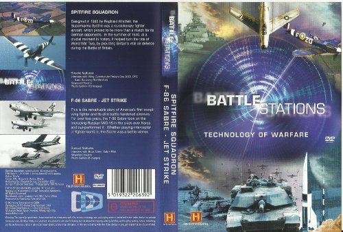 Preisvergleich Produktbild Battle Stations - Technology of Warfare - Spitfire Squadron - F-86 Sabre - Jet Strike