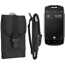 bolsa del cinturón / funda para Doogee T5, negro | caja del teléfono cubierta protectora bolso - K-S-Trade (TM)