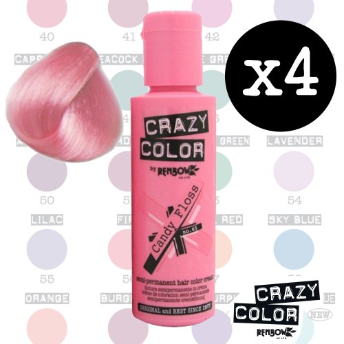 crazy-colour-semi-permanent-hair-dye-by-renbow-candy-floss-no65-100ml-box-of-4