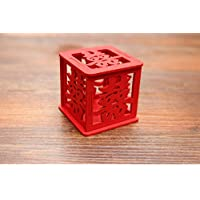 Nuovo Arrivo tradizione cinese rosso matrimonio scatola in legno
