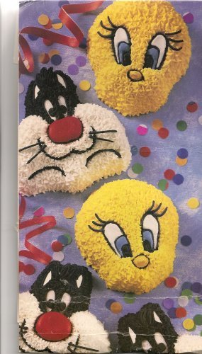 Wilton Cake Pan: Sylvester and Tweety Mini Treats Cupcake / Muffin / Candy Mold / Pan (2105-8471, 1994) ~ 6 Single Cavities by Wilton