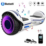 COLORWAY Hoverboard Elettrico Bluetooth Scooter con Bluetooth & LED Auto Balance...