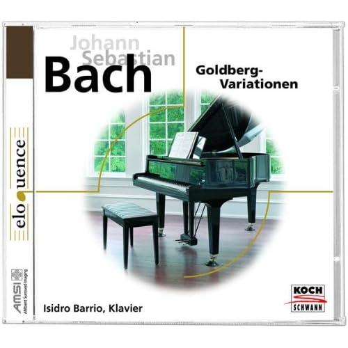 """J.S. Bach: Aria mit 30 Veränderungen, BWV 988 """"Goldberg Variations"""" - Var. 2 a 1 Clav."""