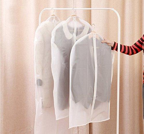 K&C Transparente Kleidung Anzug Kleidungsstück Staubdicht Abdeckung Aufbewahrungsbeutel Smart Kleidungsstück Abdeckungen 1.99 * 4.49 Zoll Set von 3