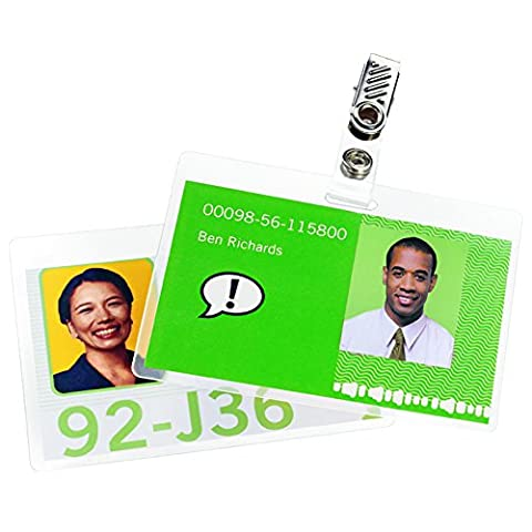 Swingline GBC UltraClear Thermal Laminating Pouches, Badge/ID Card Size With