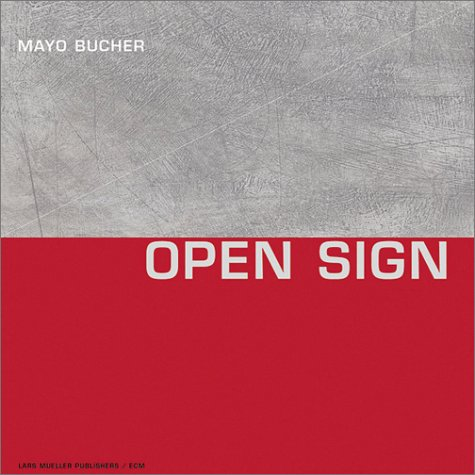 Mayo Bucher - Open Sign: Engl. /Dt. Buch-Cover