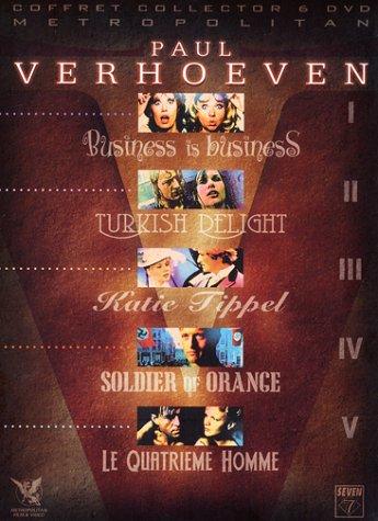 Coffret Paul Verhoeven 5 DVD : Turkish Delight / Business is Business / Le Quatrième homme / Soldier Of Orange / Katie Tippel [Coffret Collector]