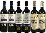 Le Wine Club Bordeaux Medailles Château Prince Larquey/Château Belair Coubet/Medoc de Bensse 75 cl, Boîte de 6 Grands Vins