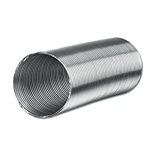 AA-Kaminwelt Aluflexrohr, Aluflex elastische Aluminiumleitung 1,5 m x d 100 mm