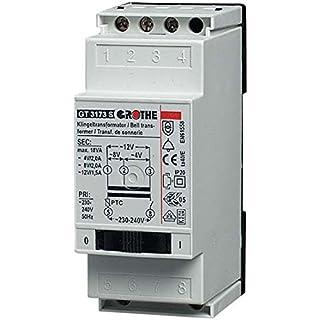 Grothe Transformateur pour Sonnerie avec 8/12VAC, 1,3/1A, GT 3139s, 1512016