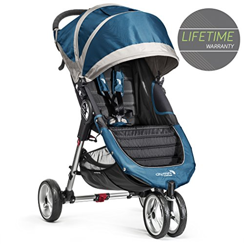 Baby Jogger City Mini 3 - Silla de paseo, color turquesa/gris