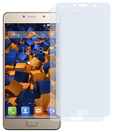 mumbi Schutzfolie kompatibel mit Lenovo P2 Folie klar, Bildschirmschutzfolie (2x)