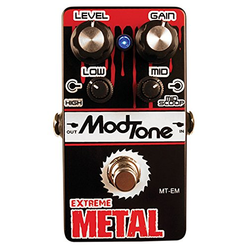 Mod Tone MT-EM Pedale Effetto Extreme Metal Heavy Distortion