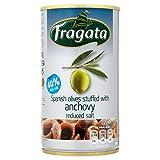 Fragata Aceitunas Rellenas De Anchoa Con Reducción De Sal 350g (Paquete de 6)