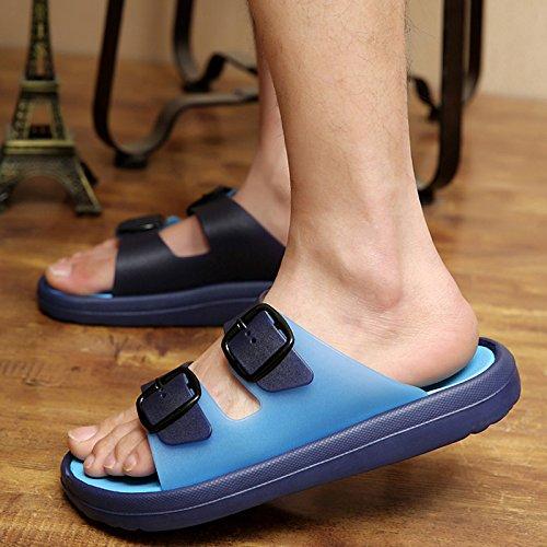 L'été, sandales pour hommes, des mots, de chaussons, d'hommes version coréenne, tongs, chaussures de plage, les trous d'été 929 Huang Hong