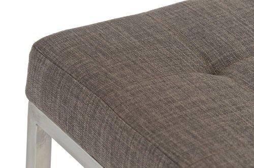 Clp sgabello imbottito lugano senza schienale u2013 sgabello moderno da